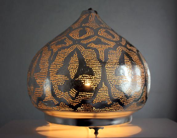Super Oosterse Tafellamp, Marokkaanse Vloerlamp en Staande Lamp - Ghalia &BO58