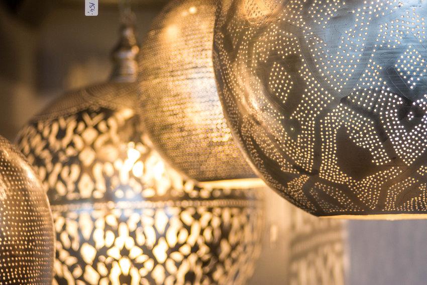 Marokkaanse Lampen Rotterdam : Oosterse hanglampen uniek handgemaakt verzilverd ghalia