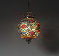 Mozaiek-Lamp