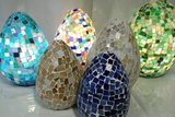 Mozaieklamp egg Ghalia