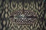 Oosterse lamp Burlesque XL aan donker