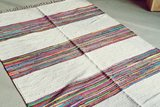 indiase katoen kleed Blanca Colore Ghalia