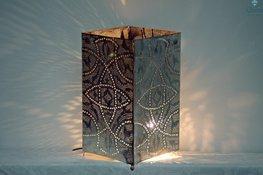 Staande Oosterse Lamp Qube L