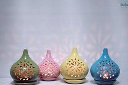Wonderlamp Kaarshouders