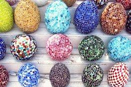 Mozaiek Lamp Egg