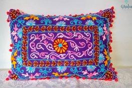 Oosterse Kussens Damali Purple 50 x 35
