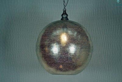 Oosterse lamp Souk XL licht aan