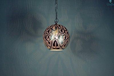 Oosterse lamp Alhambra Ghalia S met licht