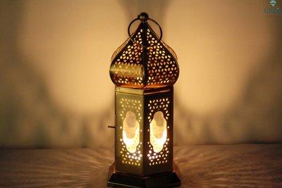Ghalia oosterse lantaarn El Dorado