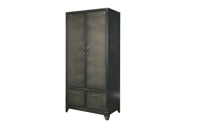 Black Antique Locker